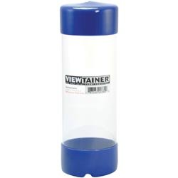 Bulk Buy: Viewtainer (6-Pack) Storage Container 2.75in. x 8in. Blue CC27508-3 by Viewtainer