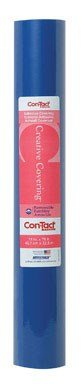 Con-Tact Brand Creative Covering Self-Adhesive Shelf and Drawer Liner, 18-Inches by 75-Feet, Royal Blue