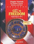Call to Freedom, Holt, Rinehart and Winston Staff, 003065226X