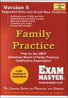 Family Practice Certification Exam, Exam Masters Corporation Editors, 1581290799
