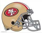 - WinCraft NFL San Francisco 49ers 16788091 Multi-Use Colored Decal, 5