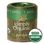 Simply Organic, Mini Parsley Leaf Flks Or, 0.07 OZ