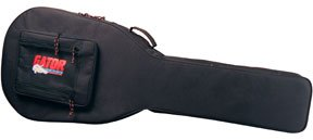 Gator Cases Lightweight Polyfoam Guitar Case for Acoustic Bass Guitars (GL-AC-BASS)