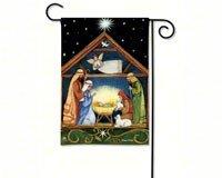 BreezeArt Bethlehem Garden Flag 31037