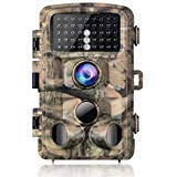 Super Clear Pictures and Full HD VideosFeaturing 14MP and 1080P resolution,the trail camera allows you to enjoy the wonderful animal world.High Sensitivity with Long Trigger Distance 3 passive infraredsensors design can save more batt...