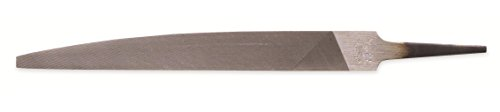 Nicholson Hand File, American Pattern, Double Cut, Knife, Coarse, 10
