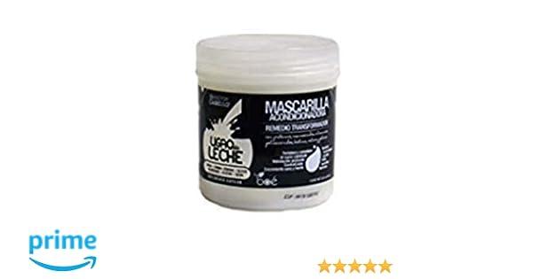 LIGAO LECHE PROTEIN - Mascarilla para el pelo con aminoácidos, vitaminas, polisacáridos, biotina, calcio y potasio 240g: Amazon.es: Belleza