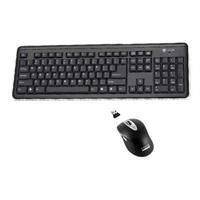 Wireless RF2 Keyboard Lsr Mouse Blk 4GHZ Nano Set Space Saving - Buslink Mouse