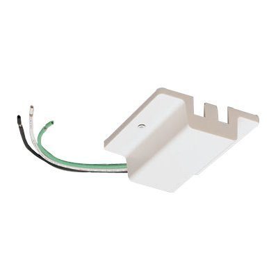 White - Single Circuit Track Accessory - Floating Canopy Feed - H-Type - Nora (Floating Canopy Feed)