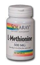 L-methionine 500 Mg 30 Capsules - 1