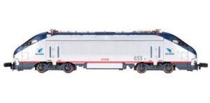 N Spectrum HHP-8 w/DCC, Amtrak/Acela #655 Acela Train Set