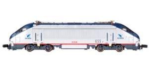 N Spectrum HHP-8 w/DCC, Amtrak/Acela #655 (Acela Train Set)