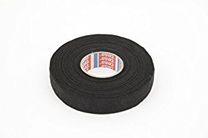 21D2WyYkQyL 2 pcs, tesa 51618 pet fleece friction tape, wire harness 3 4 in fs friction tape wire harness at crackthecode.co