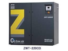 アネスト岩田 コンプレッサ ダブルツース ZWT-220M6 オイルフリー B01KIZR25C
