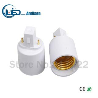 Halica G23TO E27 adapter Conversion socket material fireproof material G23 socket adapter Lamp holder