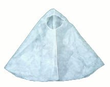 058dec60b23 Amazon.com  Ninja Hood - Polypropylene Elastic Face - White - 1 Case ...