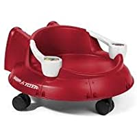 Radio Flyer Spin 'N' Saucer Caster Ride-on for Kids