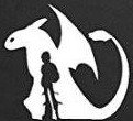 Toothless Dragon Hicup car How to train your dragon die cut vinyl decal sticker wall car laptop