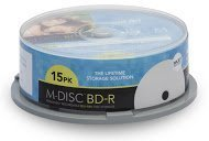 M-DISC 25GB Blu-ray Media, Inkjet Printable - 15 Disc Cake Box