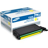 Samsung CLT-Y508L Yellow 4000 Page Yield Toner Cartridge for CLP-620ND, CLP-670N, CLP-670ND Printers CLT-Y508L/SEE