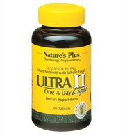 Natures Plus Ultra II Light Multivitamin - 90 Vegetarian Tablets, Sustained Release - Daily Vitamin & Mineral Supplement for Overall Health, Energy Booster - 90 - Plus Light Four