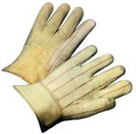 Hot Mill Gloves Heavyweight with Knuckle Strap (Sold by Dozen) - Size Mens Hot Mill Knuckle Strap