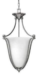 Hinkley 4663OB, Bolla Large Bowl Pendant, 3 Light, 180 Total Watts, Bronze