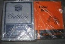 1973 GM Cadillac Models Service Manual Set W Body & Owners & Parts Catalog Book (Repair Cadillac Parts)