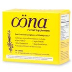 Oona Herbal Supplement for Menopause with Black Cohosh and Vitex (96 Tablets)
