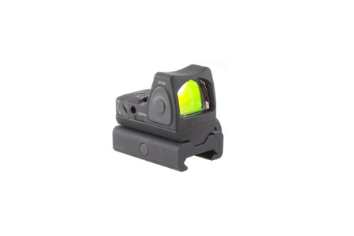 Trijicon RMR/Adjustable LED RMR Type 2 6.5 MOA Adjustable LED Red Dot Sight with RM34W Tall Weaver Rail Mount