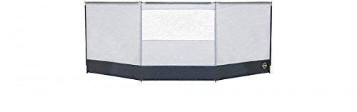 Columbus Windschutz Fb. grau/dunkelgrau 400 cm x 140 cm - VERTRIEB durch - Holly ® Produkte STABIELO ® -