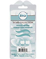 Febreze Home Collection Wax Melts Mineral Springs, 6 Melts, 2.75oz