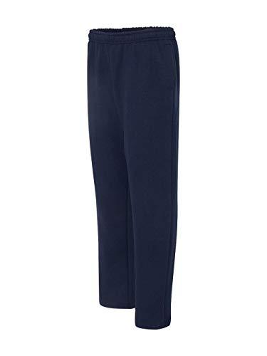 By Gildan Gildan Adult Heavy Blend 8 Oz Open-Bottom Sweatpants With Pockets - Navy - S - (Style # G183 - Original Label) ()