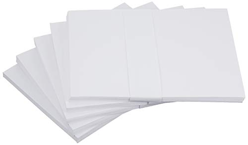 60 Pack of Bright White 5 x 7 Inch Envelopes (Not A7 - Fits Cards Smaller Than 5x7) - Envelope for Christmas, Thank You Cards, Invitations, Greeting Card, Letter - 24lb Fine Smooth Paper ENV5X7WHT60 ()