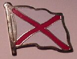 Flags Unlimited Alabama Lapel Pin