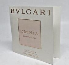 BVLGARI Omnia Crystalline Eau De Toilette 1.5ml / 0.05 oz Spray Vial