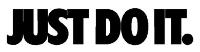 Lowest Price! Nike Just Do It Logo Vinyl Sticker Decal-Black-4 Inch