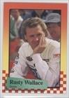 Rusty Wallace (Trading Card) 1989 Maxx Racing - Card Wallace Rusty
