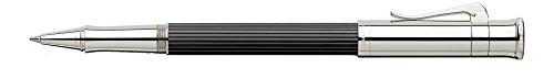 GRAF von Faber-Castell Classic Platinum Plated Rollerball Pen - Ebony