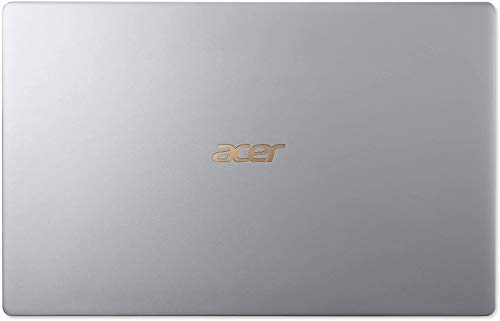"Acer Swift 5 Ultra-Thin & Lightweight Laptop 15.6"" FHD IPS Touchscreen, Intel Quad-Core i5-8265U, Backlit Keyboard, FP Reader, Windows 10 + CUE Accessories (8GB DDR4, 256GB+256GB SSD)"