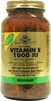 Natural Vitamin E 1000 IU - Mixed, Vegetarian - 50 - Softgel