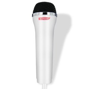 (The Best Official Konami USB Logitech Microphone - White PS2, PS3, XBOX 360, Wii-80407 - The Official Konami USB Logitech Microphone accurately reproduces the sound of your voice so you can enjoy playing all of your favorite karaoke games. This high-performance microphone has a reliable, high-quality design which is perfect for showcasing your singing voice. The Official Konami USB Logitech Microphone features a 15-foot cable which lets you perform without being tied down.)