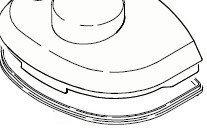 Karcher Lid seal for puzzi 10/1, 10/2, 100 & 200 waste lid