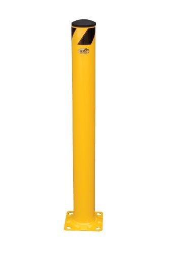Vestil Steel Pipe Safety Bollard - 36in.H, 4 1/2in. dia., Model# BOL-36-4.5