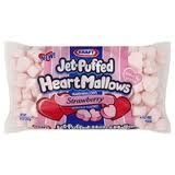 Kraft Jet-puffed Heartmallows Strawberry Flavored Marshmallows 8 Oz Package - Flavored Marshmallows