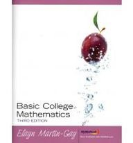 Basic College Mathematics with MyMathLab/MyStatLab Student Access Kit (3rd Edition)