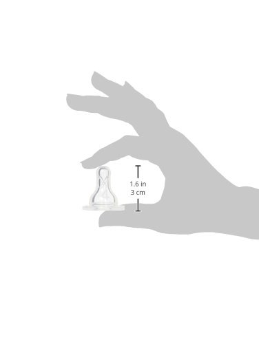 Dr. Brown's Original Nipple, Level 4 (9m+), 6 Count