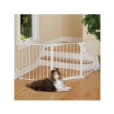 Command Pet Custom Fit Gate, 29.5'', White