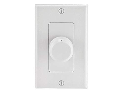 Monoprice 108243 RMS 100W Speaker Volume Controller, White