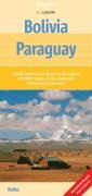 Bolivia & Paraguay Map by Nelles (Nelles Maps) (English, French, Italian and German Edition)...